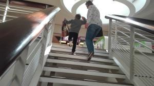 marcin uwielbia schody