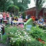 koncert w ogrodzie