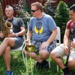 saksofon puzon klarnet