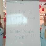 Pierwszy kilometr dla Fundacji przejechały te miłe Dziewczyny! Dziękujemy za dobry start!