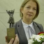 Jola Bobińska z nagrodą
