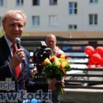 Prezydent Włodzimierz Tomaszewski - był z nami na samym początku. Nie mogło Go zabraknąć na takiej uroczystości... jak to dobrze mieć takich Przyjaciół!