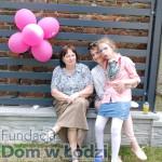 Na urodziny przyjechała nawet Pani Barbara Orzeł - z Bochni.  Jula na kolanach u Basi... Orzeł ;-)