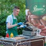 Pyszne hot-dogi serwowała firma Pamso. Sylwek zdobył nowe umiejętności. Był świetny!
