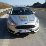 Pierwsze zadanie wykonane! Julia przywieziona ze szpitala w Olsztynie. Pierwsze 600 km zrobione. Wygodnie i bezpiecznie!