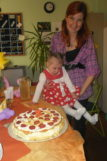Trzecie urodziny Julianki