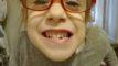 Juleczka zgubiła pierwszy ząb ;-)