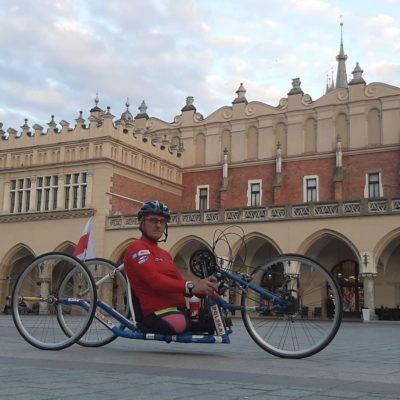 2000 km handbikem – wesprzyj rehabilitację Dzieci